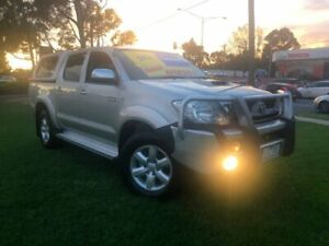 2011 Toyota Hilux KUN26R MY10 SR5 Silver 4 Speed Automatic Utility Ferntree Gully Knox Area Preview