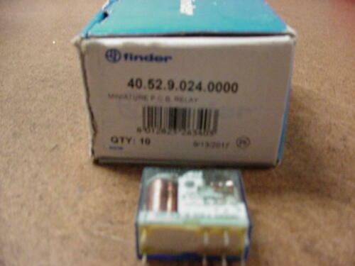 FINDER RELAY 40.52.9.024.0000 (Pack of 10)