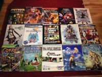 Lot of Player's Guide Player Guide Mario Final Fantasy Ect