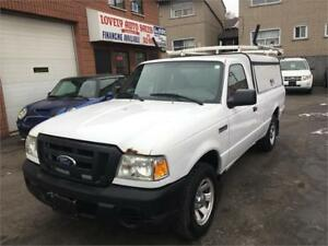 2008 Ford Ranger XL,cap with ladder rack,SNOW TIRES