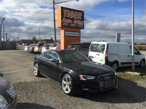 2013 Audi S5 ***RED/BLACK LEATHER***ONLY 135 KMS**PANORAMIC ROOF
