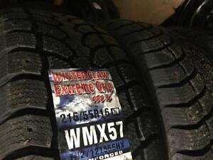 Vente des pneus neufs (Hiver) toutes grandeurs disponibles