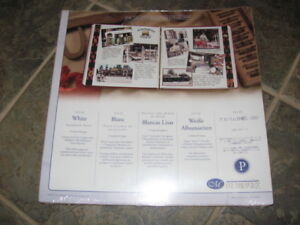 Creative Memories 12 x 12 White Pages and Protectors Unopened