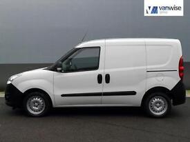 2013 Vauxhall Combo 2000 L1H1 CDTI Diesel white Manual