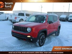 2017 Jeep Renegade TRAILHWK 4X4, PREMIUM CLOTH, BACK UP CAM