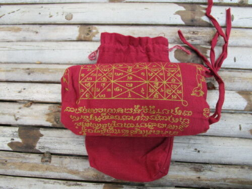 Cloth bag Sacred, King Emperor Talisman Red, Shirt, Powerful, Art, Belief & Rare