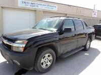 2005 CHEVROLET AVALANCHE LT-Z71-SUNROOF-LEATHER-DVDLOADED-ALLOYS