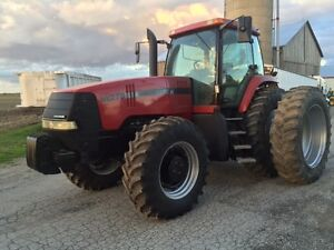 Case IH MX270 tractor and Case IH Steiger 350