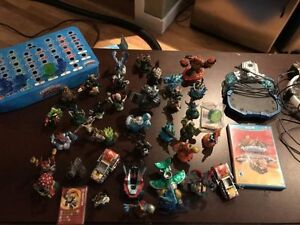 superchargers Wii u game+Skylander Collection