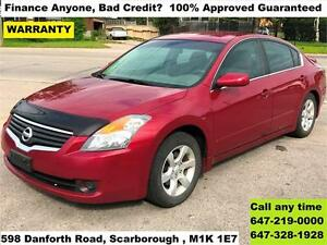 2008 Nissan Altima S FINANCE 100% APPROVED GUARANTEED WARRANY