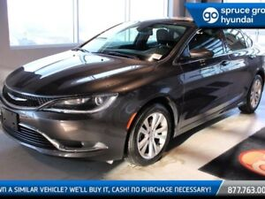 2016 Chrysler 200 LIMITED, Backup Camera, Power seat, Bluetooth