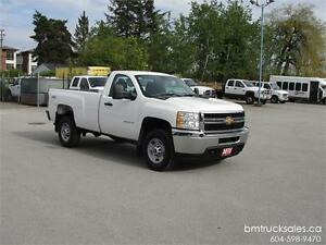 2012 CHEVROLET SILVERADO 2500HD REGULAR CAB LONG BOX 4X4 ONLY 52
