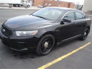 2014 Ford TAURUS AWD,BLK/BLK EX POLICE,BACK UP CAMERA