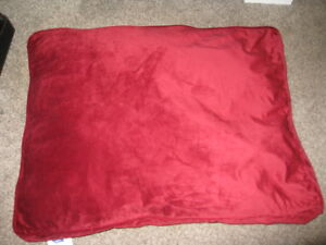 Top Paw Dog Pillow Red
