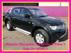 2012 Mitsubishi Triton MN MY12 GL-R (4x4) Black 5 Speed Manual Double Cab Utility Dubbo Dubbo Area Preview