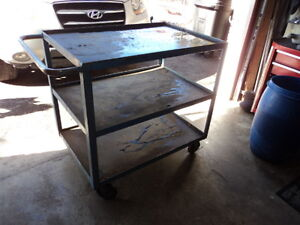 HEAVY DUTY WORK OR TOOL CART