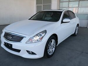 2012 Infiniti G37x SPORT, AWD, LEATHER, MEM SEATING, SUNROOF
