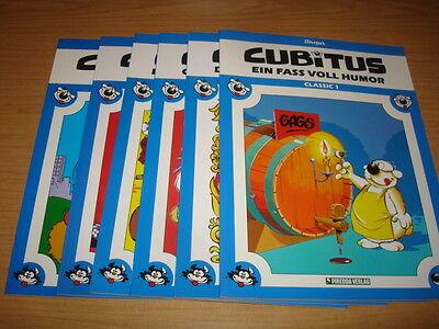 Cubitus Classic Nr.1-6 komplett (Piredda) deutsch 1 2 3 4 5 6