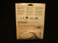 Official Nintendo Wii Wifi USB Connector Adapter w/ Disc & Cable