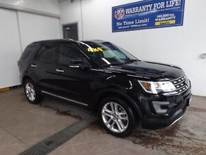 2017 Ford Explorer Limited 4WD LEATHER SUNROOF 7PASS