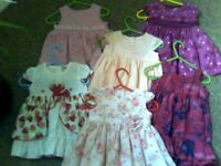 SELECTION OF 6 BABY DRESSES