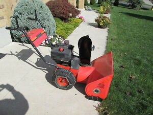 8 hp 2 stage 26 inch Mtd snowblower