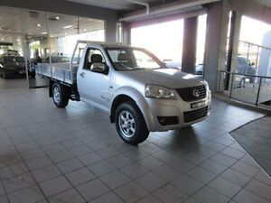 2012 Great Wall V200 K2 (4x4) Silver 6 Speed Manual Cab Chassis Thornleigh Hornsby Area Preview