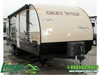 2016 Forest River Cherokee Grey Wolf 26BH Travel Trailer