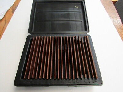 New Ultra Thin - 20 Pce - 132 - Parallel Set - 20 Sets In Fitted Case