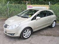 Vauxhall Corsa 1.4i 16V Design 3dr Auto (gold) 2006