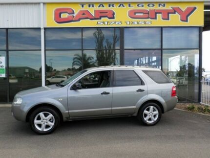 2005 Ford Territory TS Grey 5 Speed Auto Active Select Wagon Traralgon Latrobe Valley Preview