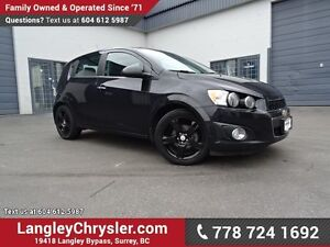 2013 Chevrolet Sonic LTZ Manual ACCIDENT FREE w/ POWER WINDOW...