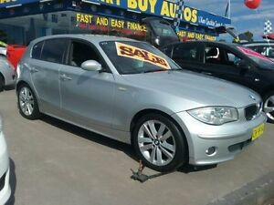 2006 BMW 120I E87 Silver 8 Speed Automatic Hatchback Greenacre Bankstown Area Preview