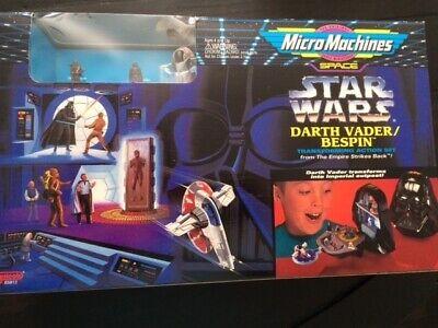 Star Wars Micro Machines Darth Vader/Bespin Transforming Playset 1994 Galoob