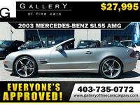 2003 Mercedes SL55 AMG CONV. $27995 ONLY! APPLY NOW DRIVE NOW