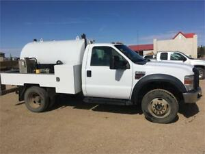 08 Ford F-550 Vac truck Certified runs great Porapotty set up