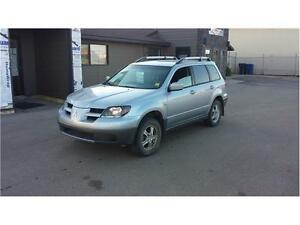 2004 Mitsubishi Outlander LS SUV *ONLY $3495 IS WHAT YOU PAY*