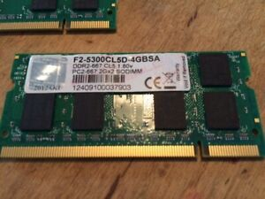 laptop  memory ram from apple computer