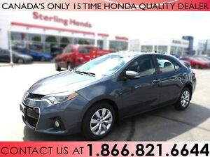 2014 Toyota Corolla S | 1 OWNER | GREAT CONDITION!