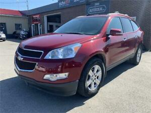 2010 Chevrolet Traverse 2LT AWD (8 PASSAGERS - CUIR - DVD)