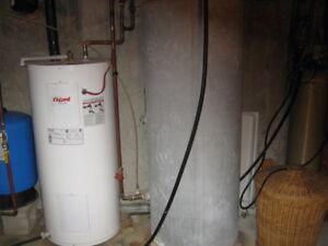 Réservoir à eau froide galvanisé 200 gallons
