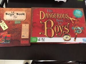 The Dangerous Book for Boys + Le Boy's Book! Excellent état!