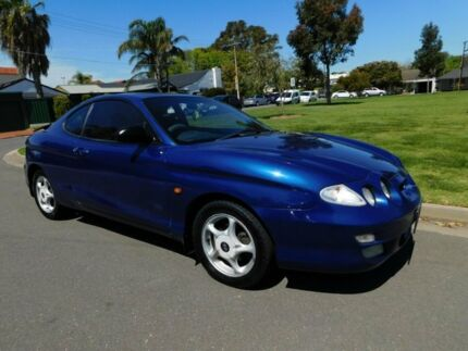 1999 Hyundai Coupe RD SX Blue 4 Speed Automatic Coupe Somerton Park Holdfast Bay Preview