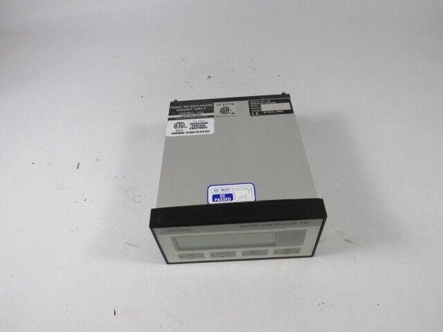 Contrec 414B.10A Batch Controller 110VAC 50/60Hz 15W  USED