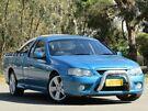 2007 Ford Falcon BF Mk II XR6 Ute Super Cab Blue 4 Speed Sports Automatic Utility