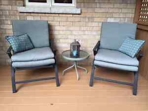Outdoor 4-chair patio set