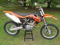 KTM SXF450 2014 MOTOCROSS MOTORCYCLE