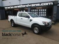 2012 Ford Ranger Super Cab XL 2.2TDCi 4x4 A/C E/Pack Diesel white Manual