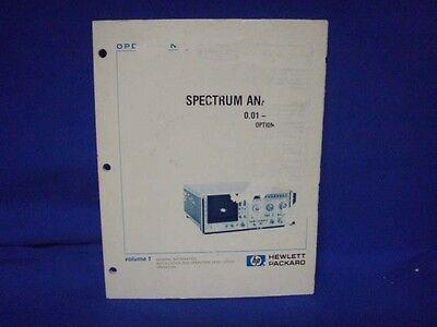 Hp 8569b Operation Service Manual Inc. Opt 01 02
