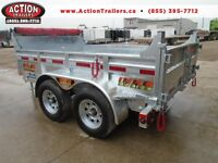 Fully Galvanzied Hydraulic dump trailer 5 ton - 6 x 10 bed -NEW